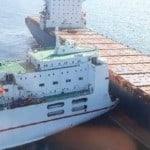 Zypriotische und Tunesische Schiff kollidierte in Frankreich-Erstellt ölpest